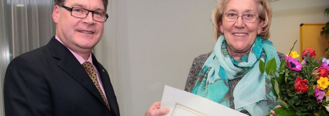 Goldenen Meisterbrief für Monika Reiter