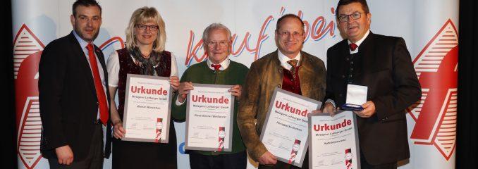 Auszeichnung für Obermeister Lohberger