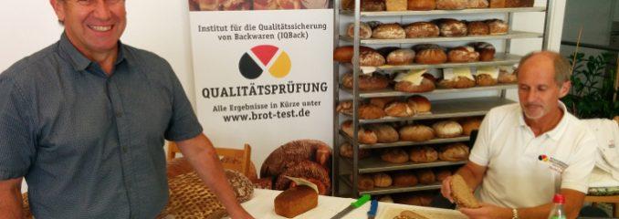 Brotprüfung bei der Bäcker-Innung Rosenheim