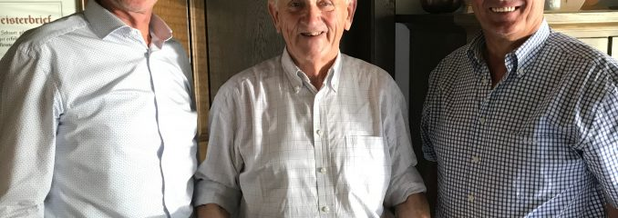Schreinermeister Richard Schauer feiert 85. Geburtstag