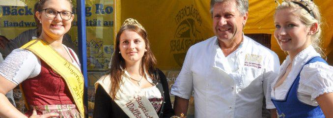 Königlicher Besuch bei der Bäcker-Innung Rosenheim