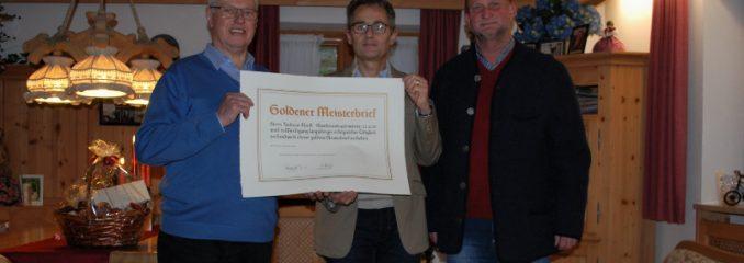 Andreas Martl feiert 80. Geburtstag