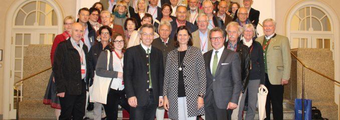 Kreishandwerkerschaft besucht Bayerischen Landtag