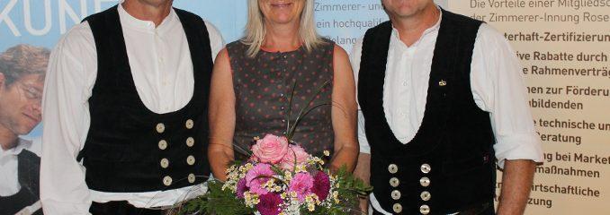 Blumen für Monika Berghammer