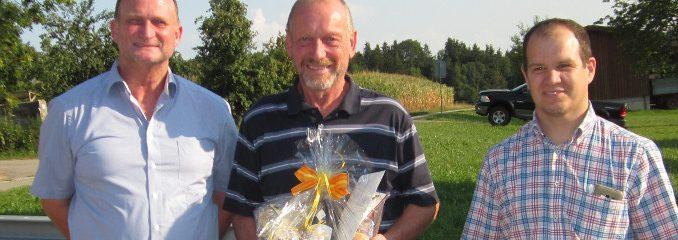 Metallbauer Josef Riedl aus Rott feiert 60. Geburtstag
