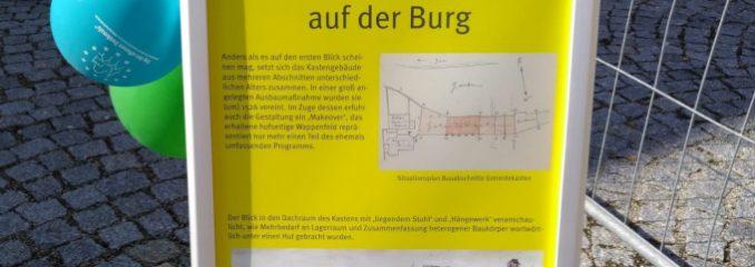 Tag des offenen Denkmals – Burg Wasserburg